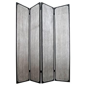 Amazoncom Screen Gems Industrial Panel Room Divider 47W x 71H in