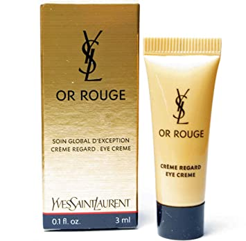 940e9560d67 Amazon.com: Yves Saint Laurent Or Rouge Crème Regard Eye Cream 0.1oz/3ml  Deluxe Sample: Beauty