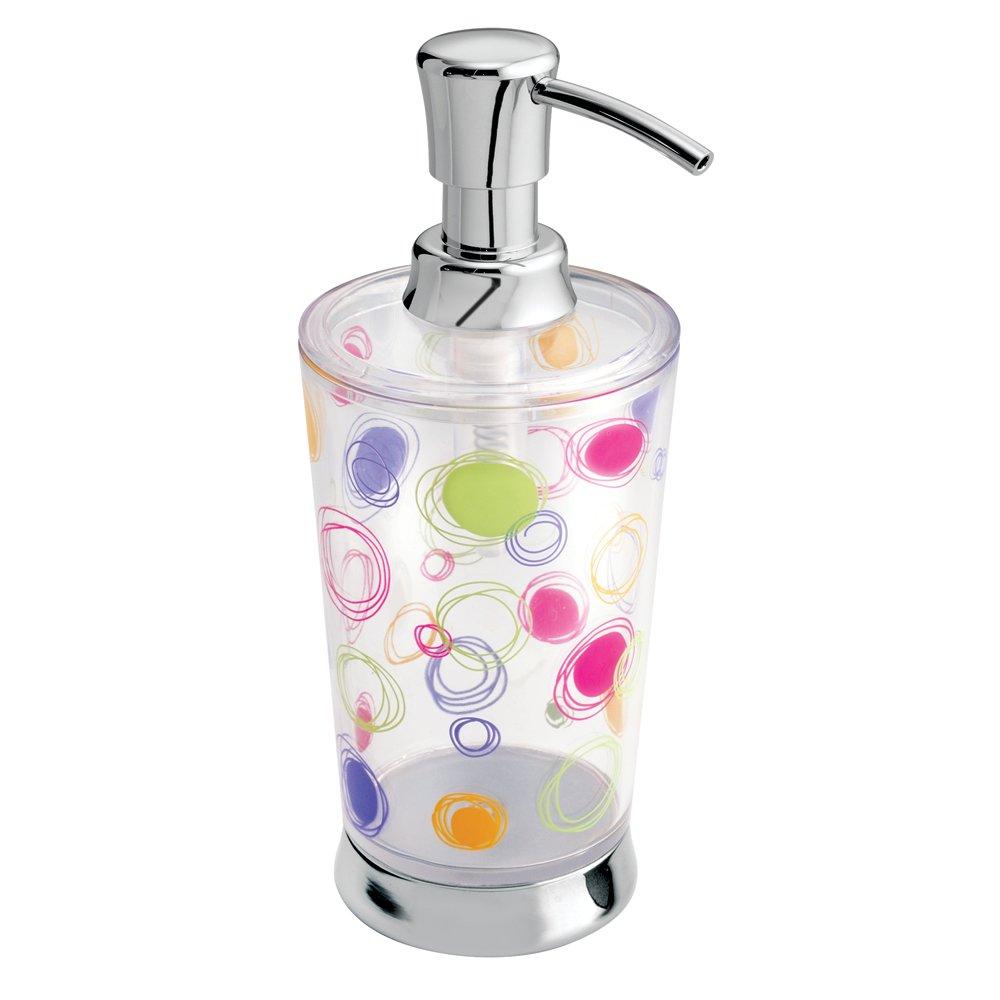 Amazon.com: InterDesign Doodle Soap & Lotion Dispenser, for Kitchen ...