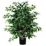 Vickerman TXX0140-06 Everyday Ficus Bush, Green Dark, 4'