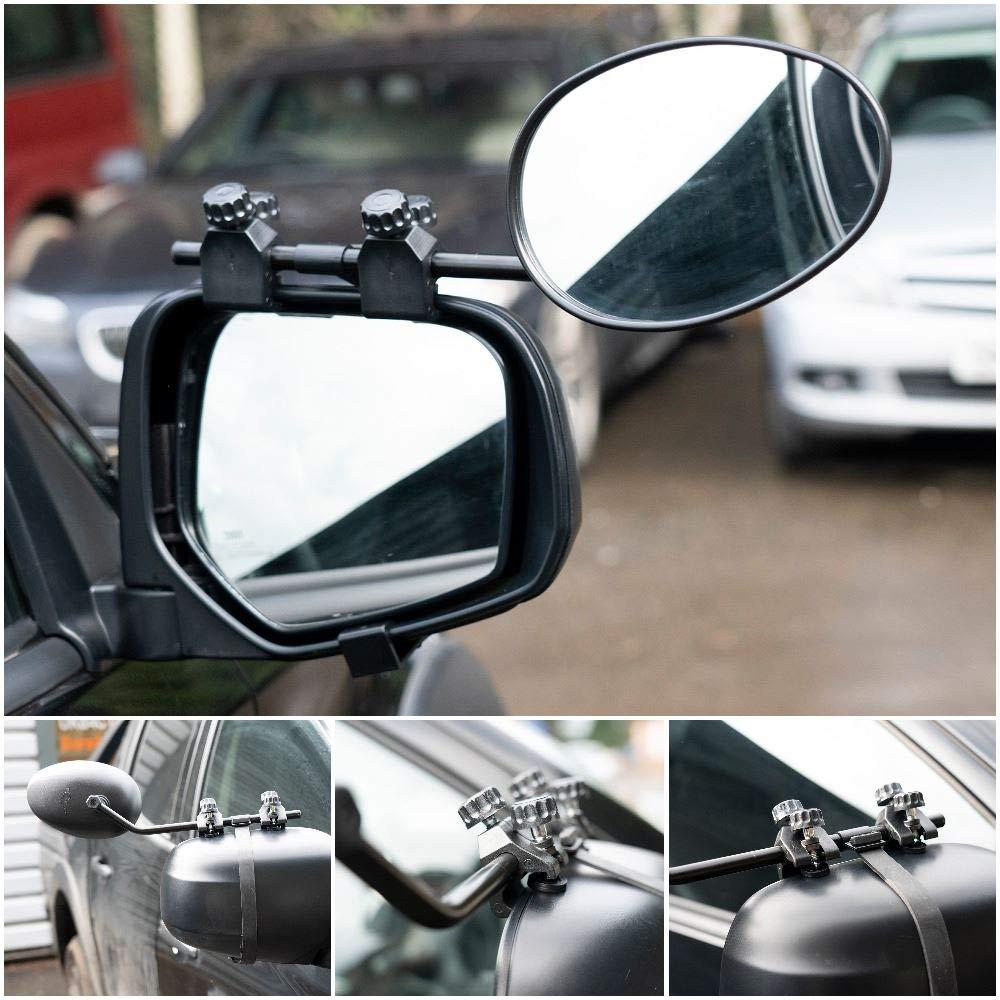 UKB4C Convex Caravan Car Extension Towing Mirror fits V60 V70 V90 XC60 XC70 XC90