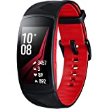 Samsung SM-R365NZRNXEF Small Gear Fit 2 PRO Smart Watch, French Version- Red