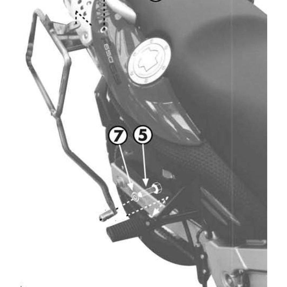 Kappa p.val. lat. bmw 650 gs 00-01- KL188