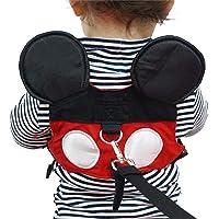 Yimidear Imbracatura di Sicurezza per Bambini, Guinzaglio Anti-perso per Bambini con Cinturino di Sicurezza per Ragazzi e Griglie