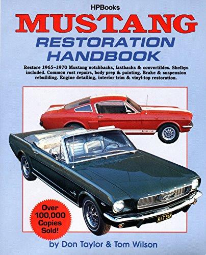 Mustang Restoration Handbook - 1964 Manual Ford Owners