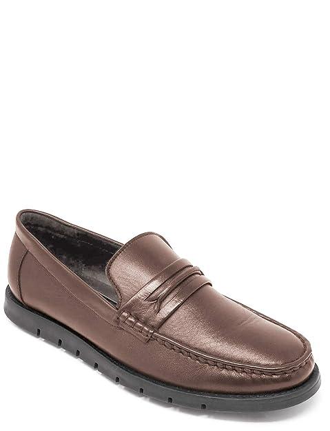 Mocasines de Cuero con Suela Flexi para Hombre: Amazon.es: Zapatos y complementos
