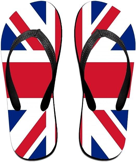 EiGo Slipper Thin Blue Line Flag American Non Slip Flip-flop Shower Shoes for Man Woman