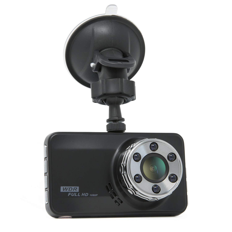 Dashcam Full HD Autokamera 1080P 170° Weitwinkelobjektiv, HDR, 3 Zoll LCD-Bildschirm, Nachsicht, Bewegungserkennung G-Sensor VBB