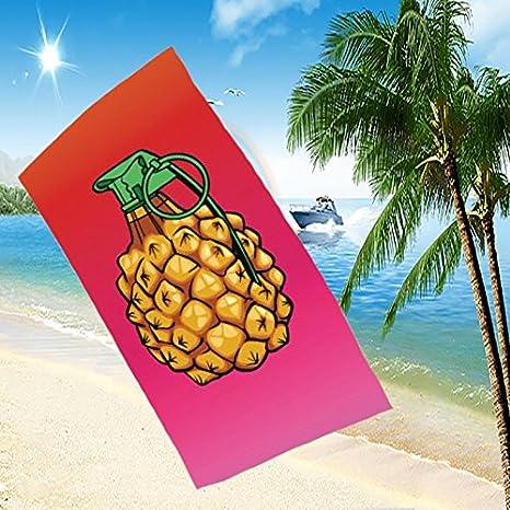 Bomba de piña verano diseños de toallas de baño de toalla de playa impresa digital 3D , 70*140cm: Amazon.es: Hogar