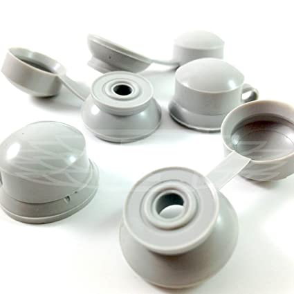 100, GOOSEWING gris embellecedores tapas para tornillos - ONDULINE, COROLUX