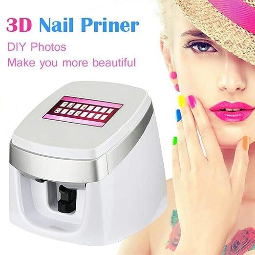 SANTHR Impresora de uñas Clavo 3D Digital Impresora portátil ...