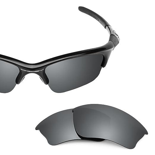 6fcff0434f Revant Polarized Replacement Lenses for Oakley Half Jacket XLJ Elite Black  Chrome MirrorShield