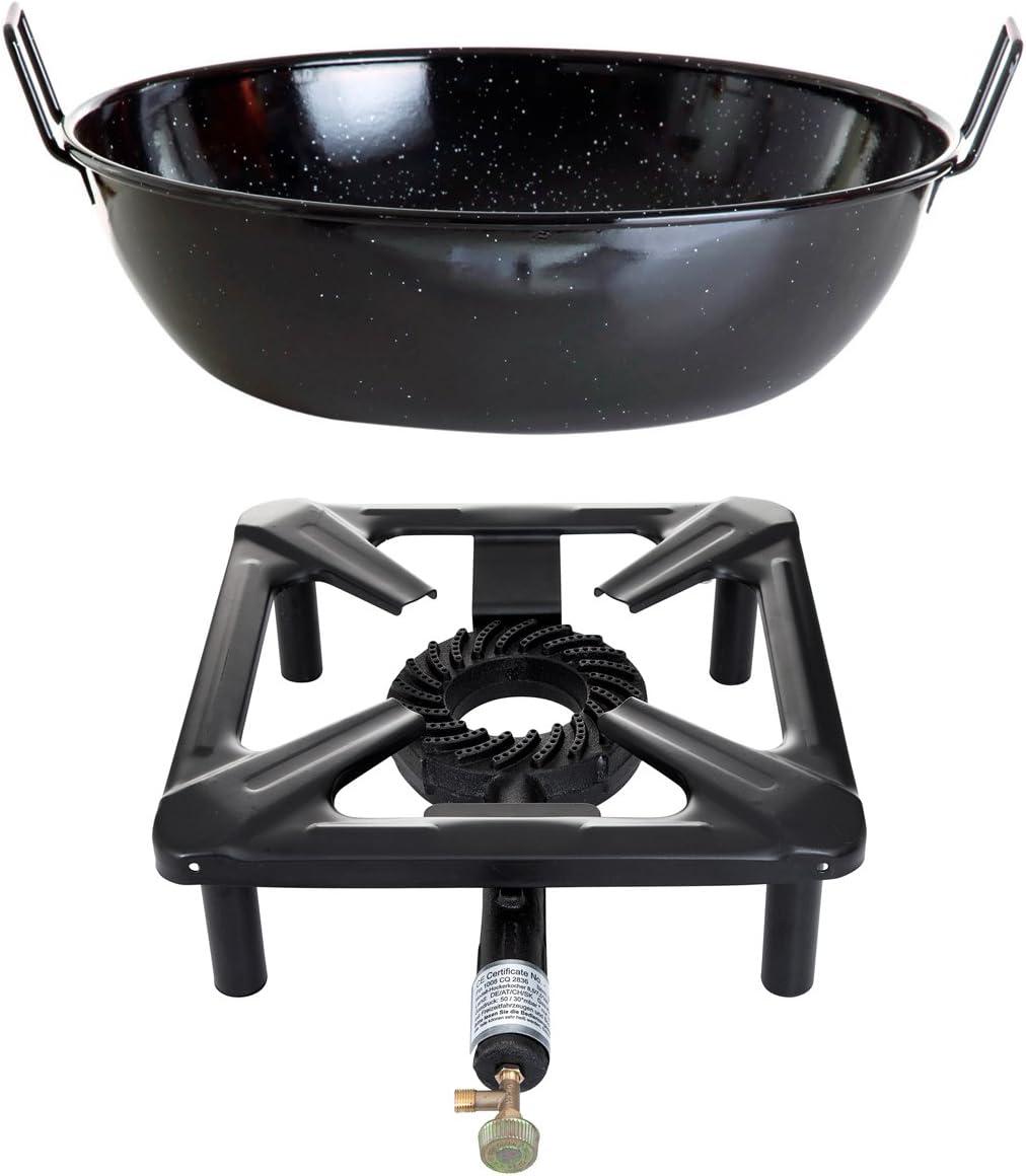 Conjunto hornillo de gas Bench cocina (pequeño) con ...
