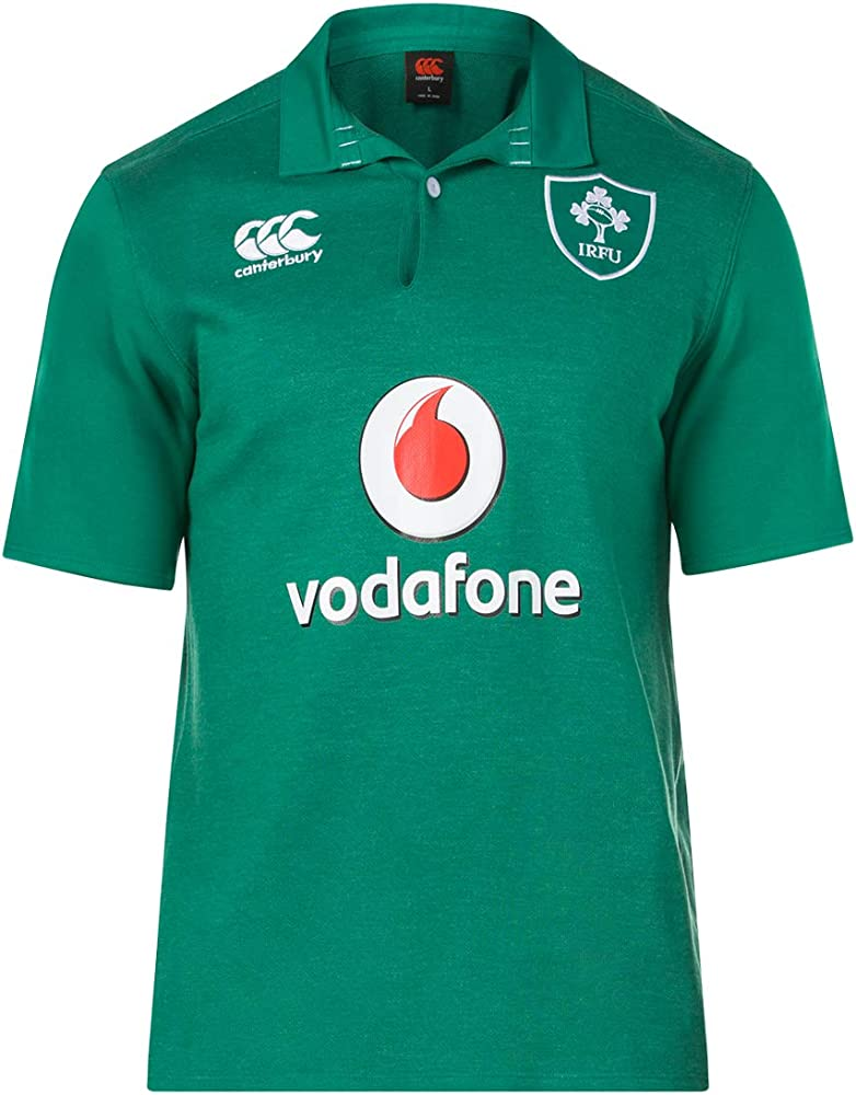 Canterbury - Camiseta de Rugby para Hombre, Manga Corta 18/19 ...