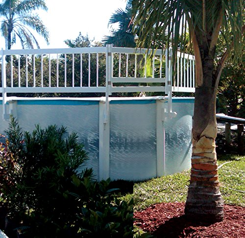 SmartPool Above Ground Pool Safety Gate, Large, White ()