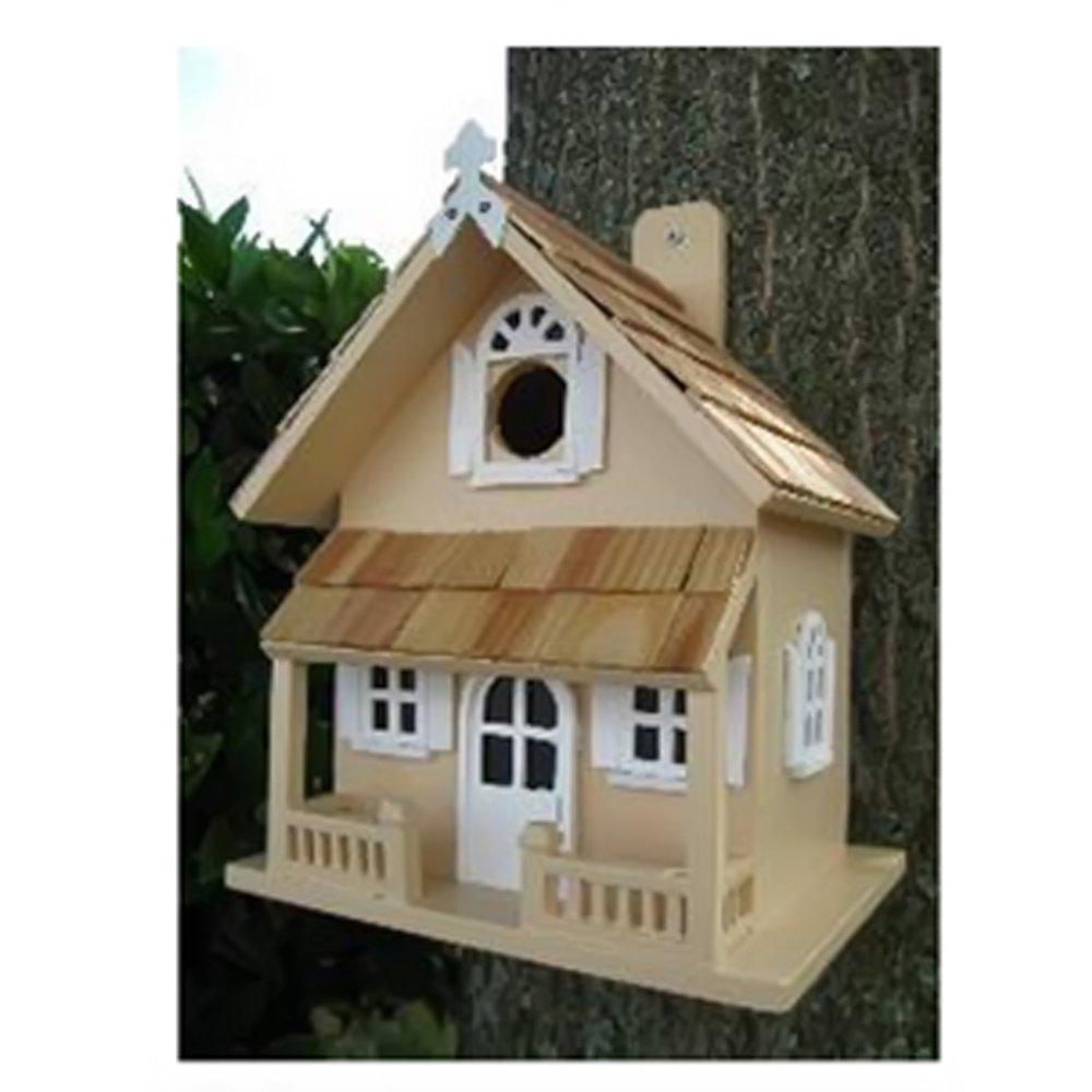 Beautiful Amazon.com : Home Bazaar Victorian Cottage Birdhouse, White : Bird Houses :  Garden U0026 Outdoor