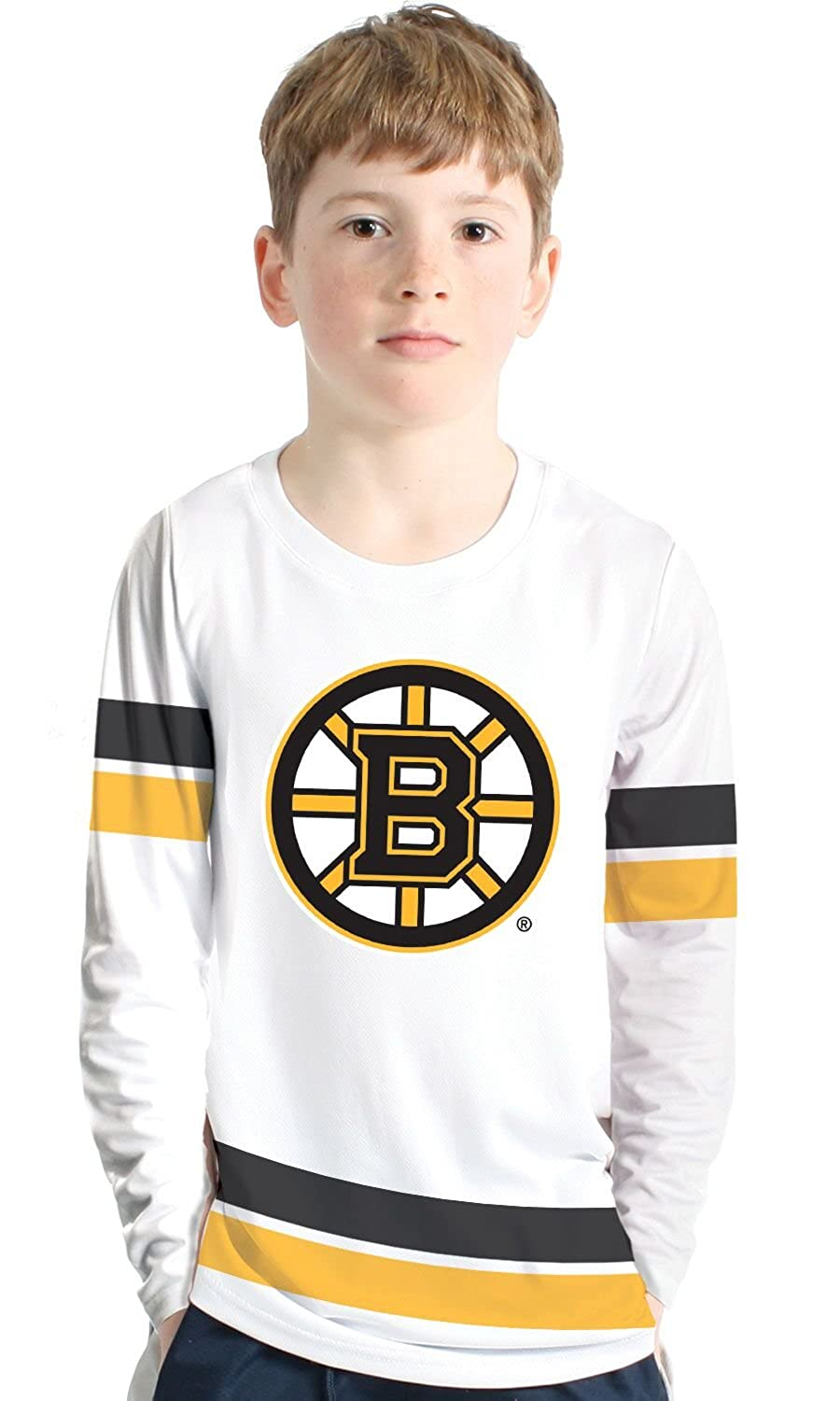 NHL Authentic Scrimmage Youth Shirt - Boston Bruins Levelwear