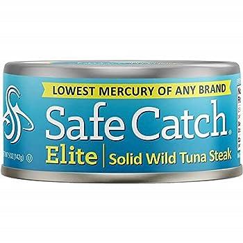 Safe Catch Elite Lowest Mercury Canned Tuna