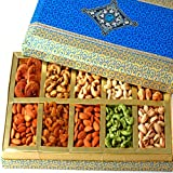 Ghasitaram Gifts Diwali Gifts Dryfruits - Exotic Dryfruit Box of 10 Dryfruits