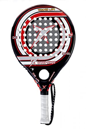 DROP SHOT Virtus Jr Pala, Unisex, Rojo/Negro/Blanco: Amazon.es: Deportes y aire libre