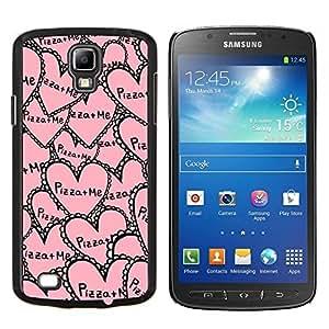 Samsung Galaxy S4 Active i9295 - Impreso colorido protector duro espalda Funda piel de Shell (Aloha Palmier)