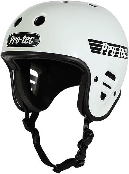 ProTec Classic Certified Snow Helmet Matte White XL Pro Tec Protective Gear