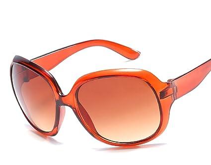 RinV Moda Femenina Gafas De Sol De Caja Grande Tendencia Individualidad Protector Solar Gafas De Playa