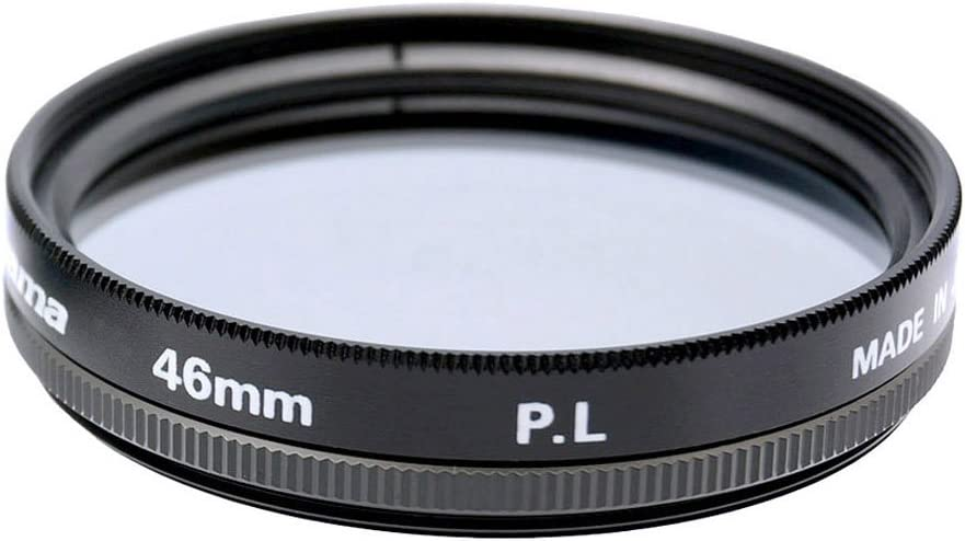 Fujiyama Black 46mm Polarizing Filter for Olympus M.Zuiko Digital 17mm 1:1.8 Made in Japan