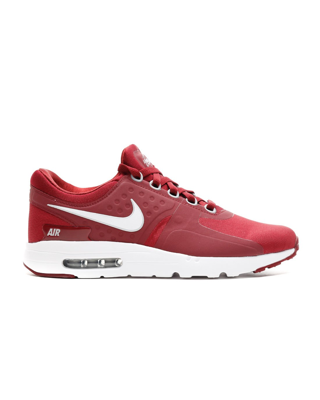 NIKE Air Max Zero Essential Mens Running Shoes B0761SVVC1 12 D(M) US|Team Red White Wolf Grey 602