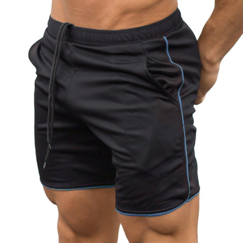 Cordon Taille /élastiqu/ée Pantalon Workout Fitness Entra/înement Pantalon Short Poche Trunks /Ét/é Actif Shorts S Juleya Homme S/échage Rapide Sport Short Respirant Poids l/éger Running Short 3XL