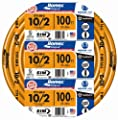 Southwire 28829023 10/2WG NMB Wire 100-Foot