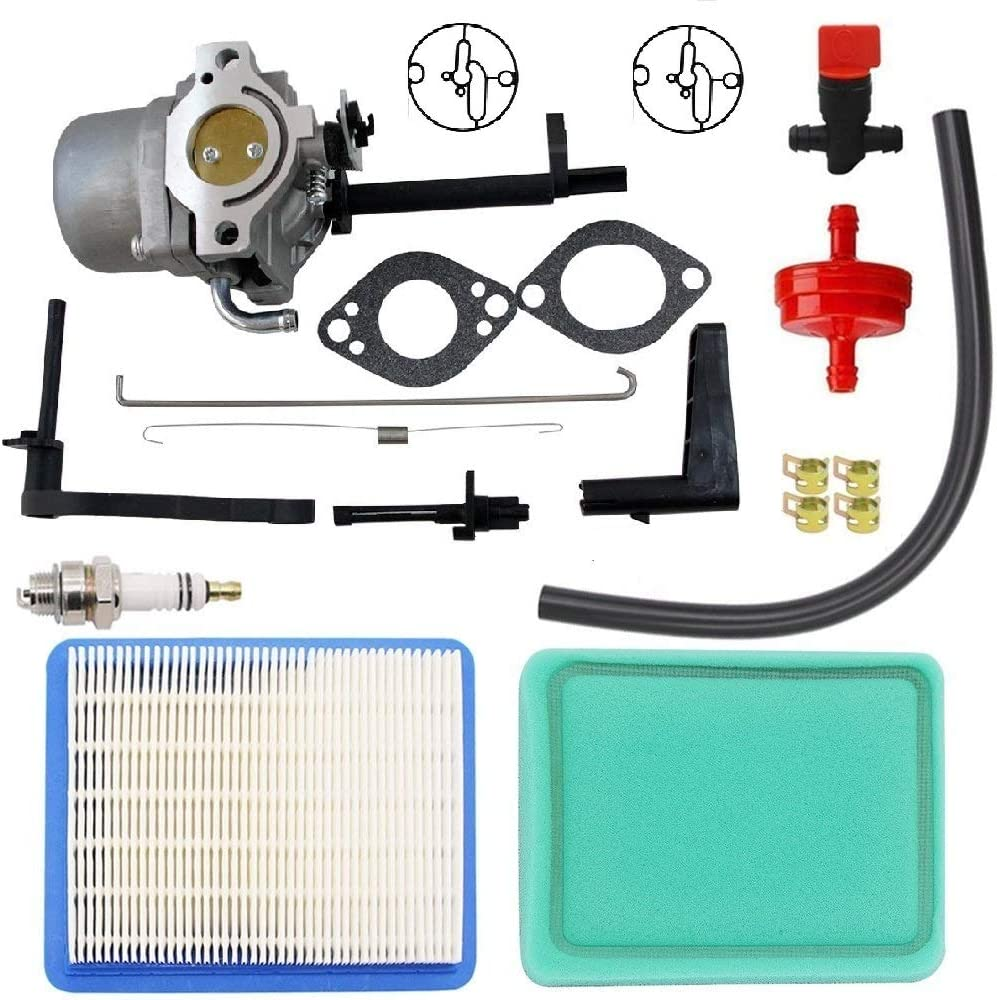 MDAIRC 591378 Carburetor Replacement for Briggs & Stratton 697978 796321 696132 696133 796322 697351 699958 699966 698455 695918 694952 695919 695330 796323 695920 695328 Snowblower Carb