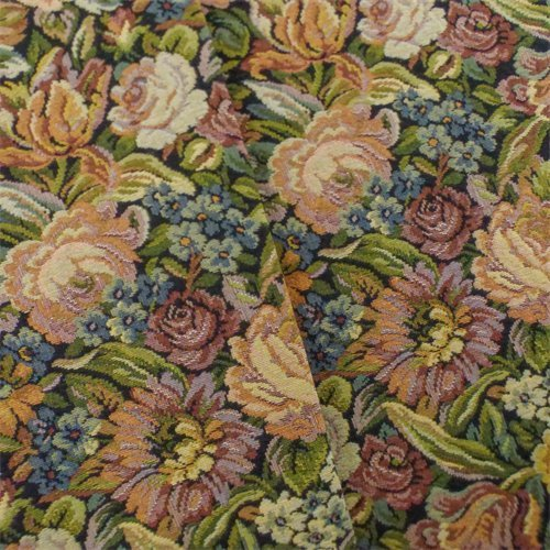 Multi Designer Floral Tapestry Home Decorating Fabric, Fabric by The Yard from Fashion Fabrics Club
