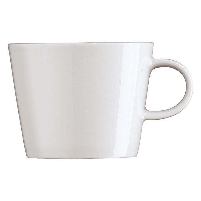 ARZBERG Untertasse Cafe-au-lait Cucina Basic White Unterteller Porzellan weiß
