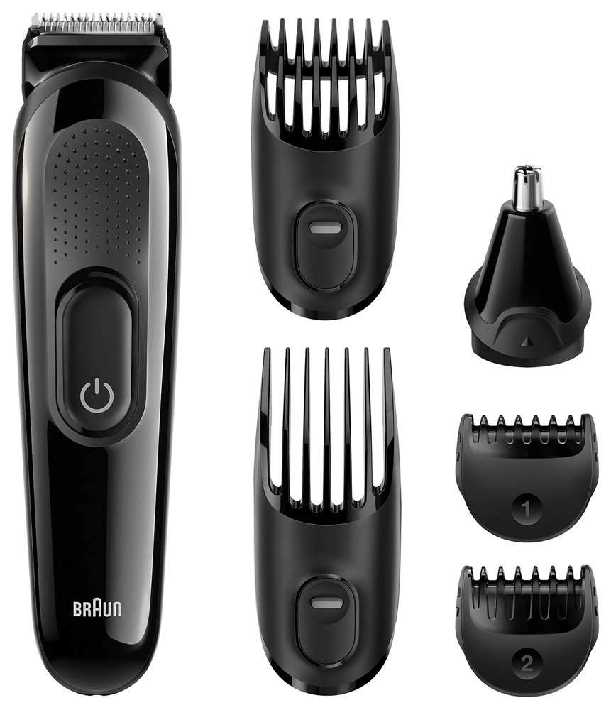 Brown Multi Gloomer 【Beard Trimmer / Nose Hair Cutter / Ear Hair Cutter】 MGK3020