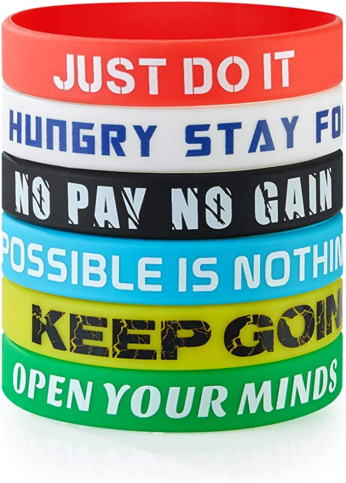 Stay Curious Motivational Inspiring Woven Fabric Friendship Wristband