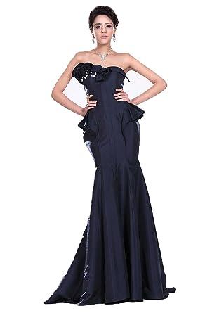 Amazoncom Angel Formal Dresses Womens Sweetheart Mermaid Taffeta