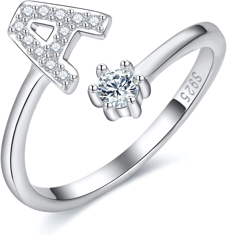 N Lady /& Girls Elegant Ring Classic Shape Ring Jewelry Birthday Gifts Silver