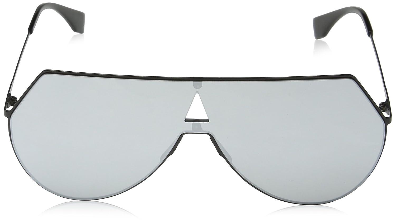 603cb0ad30a Amazon.com  Fendi Women s Shield Aviator Sunglasses