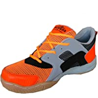 ARYANS Womens Synthetic Multicolour VB77 Badminton Shoes