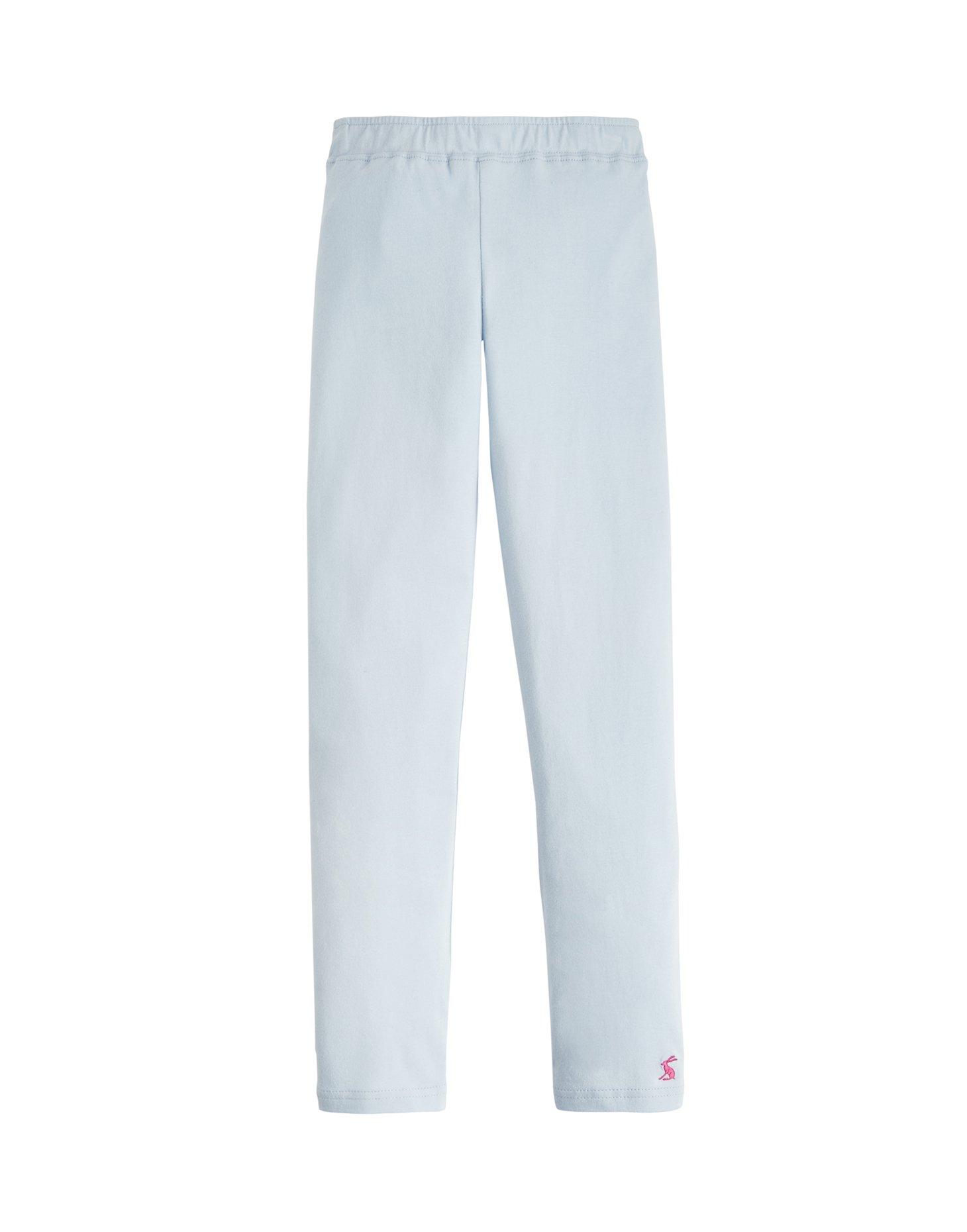 Joules Emilia Jersey Leggings - Sky Blue - 7-8 Years - 128 cm