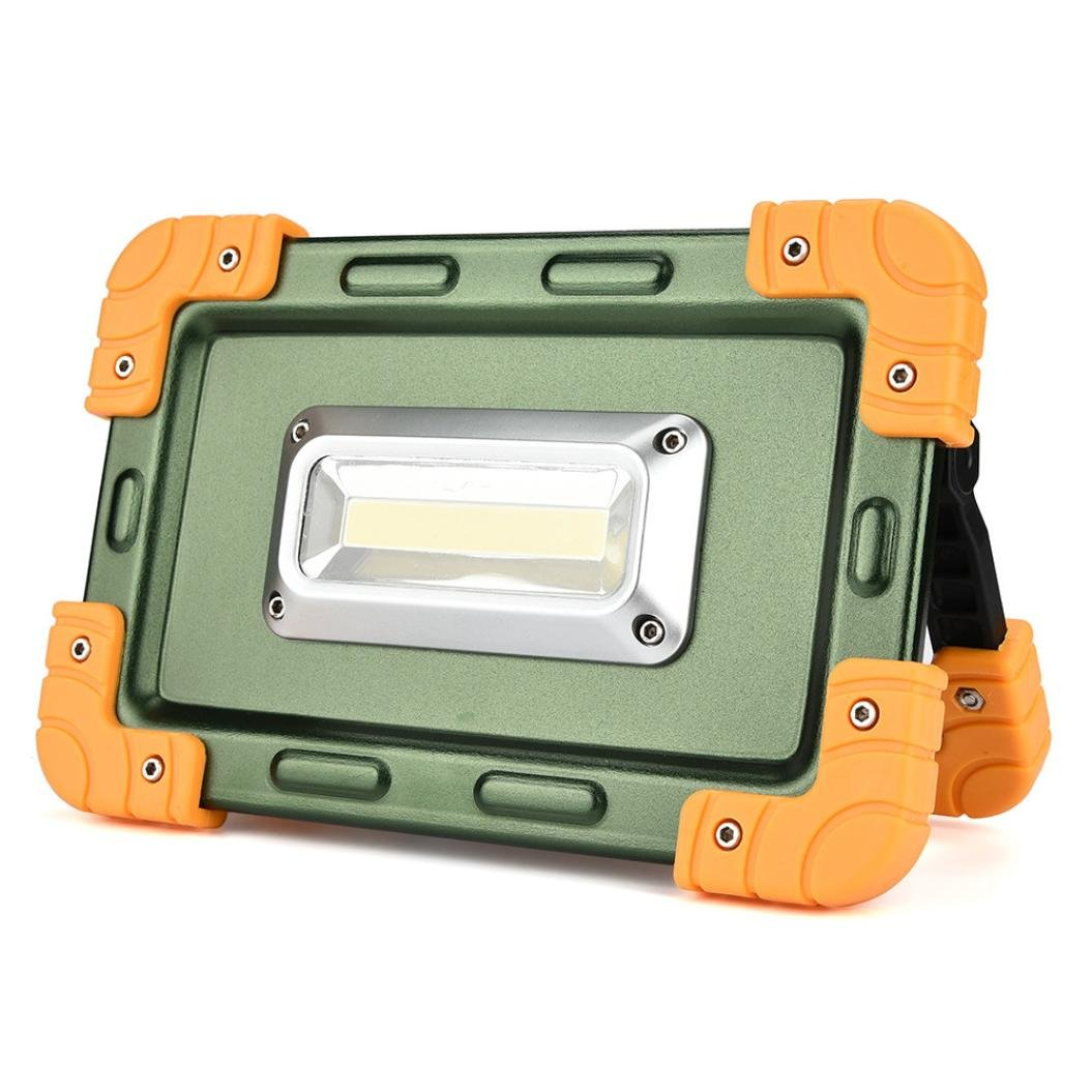 30W USB COB LED Portable Rechargeable Flood Light Spot Work Camping Outdoor Lamp Practical