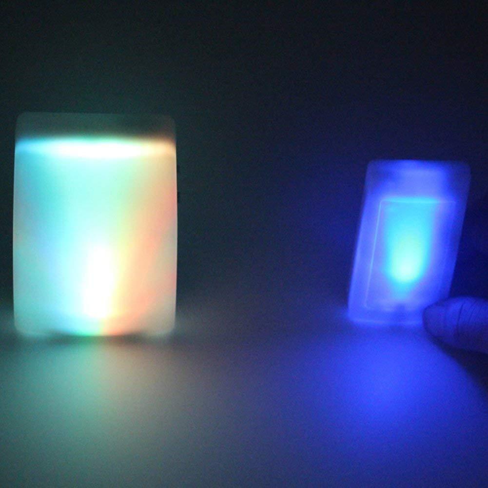 ,1Transmitter1Receiver 3 modalit/à di Lavoro 7 Colori Modificabile Luce Flash HEDDK Campanello a Pile 16 Suonerie 3-Level Volume Regolabile Molto Adatto per Sordi//Vecchi Uomini Uso