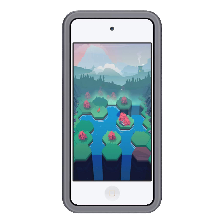 iPod Touch 5 Transparente Blanco Fintie Funda de Silicona para iPod Touch 7 Carcasa Ligera de Silic/ón Antideslizante para Ni/ños a Prueba de Golpes iPod Touch 6