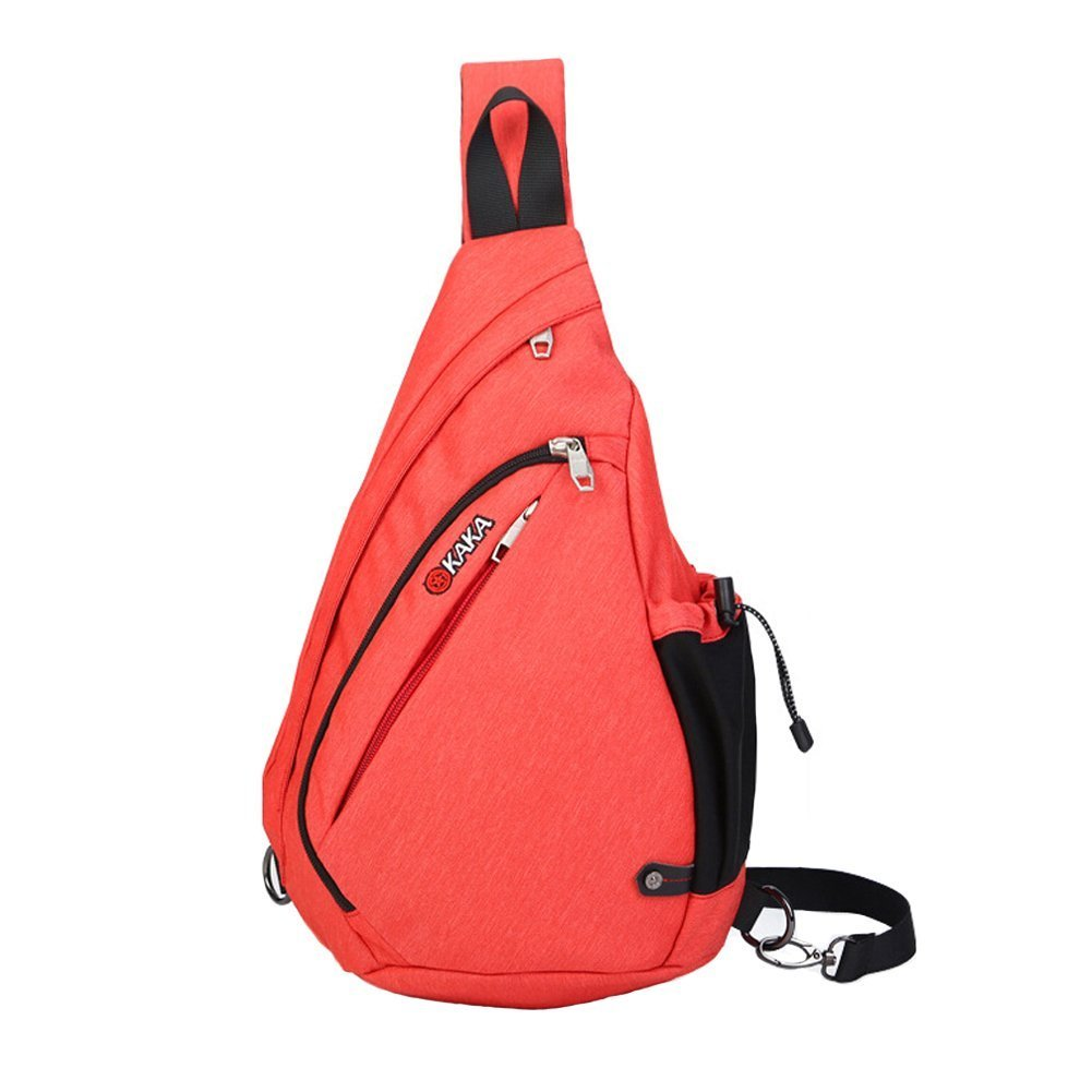 2107836a7a new Magibag Unisex Sling Shoulder Backpack Crossbody Rope Bags Daypack  Front Chest Sling Pack with Water Bottle Holder Travel Cycling Hiking