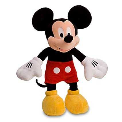 27a1d2a40 Image Unavailable. Image not available for. Color: Disney Mickey Mouse Plush  ...