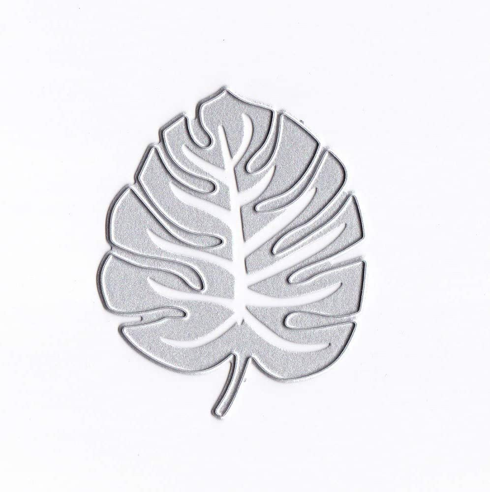 Bamboo Leaf Mixed metal Cutting Dies Stencil Scrapbooking Album Embossing DIY