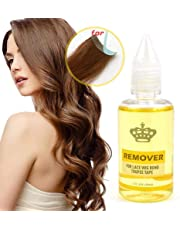 Hair Glue Remover, FOONEE Super Hair Bond Remover, Salon Use Lace Wig Toupee Skin Weft Tape Hair Extension Remover-30ml