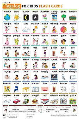 Tuttle more tagalog for kids flash cards kit includes 64 import tuttle more tagalog for kids flash cards kit includes 64 flash cards audio ccuart Image collections