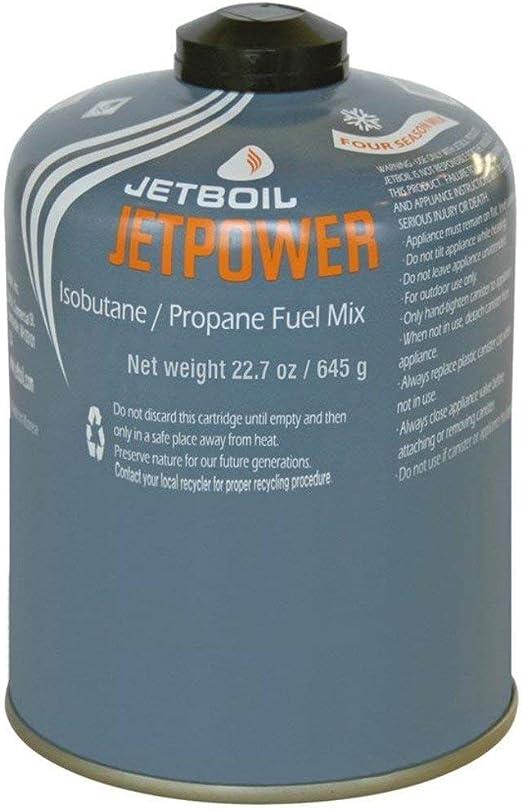 Jetboil Gaskartusche Jetpower Fuel 450 g Cartucho de Gas, Gris, Talla única
